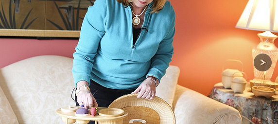DA's Investigator Turned to Basketry to Escape Stress