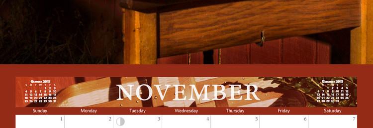 November's Calendar Girl is…