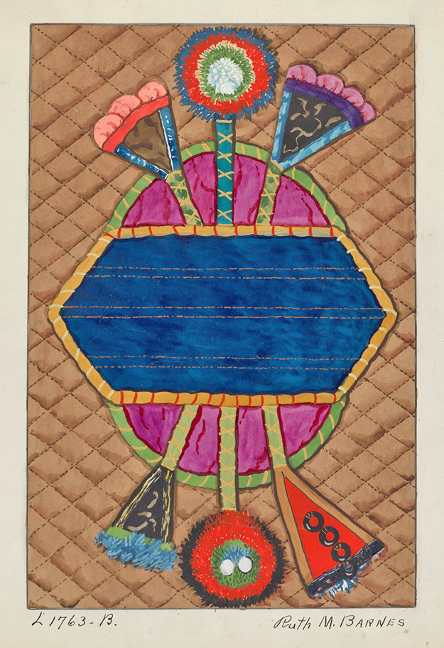 ArtW-RuthBarnes-Coverlet1936Watercol