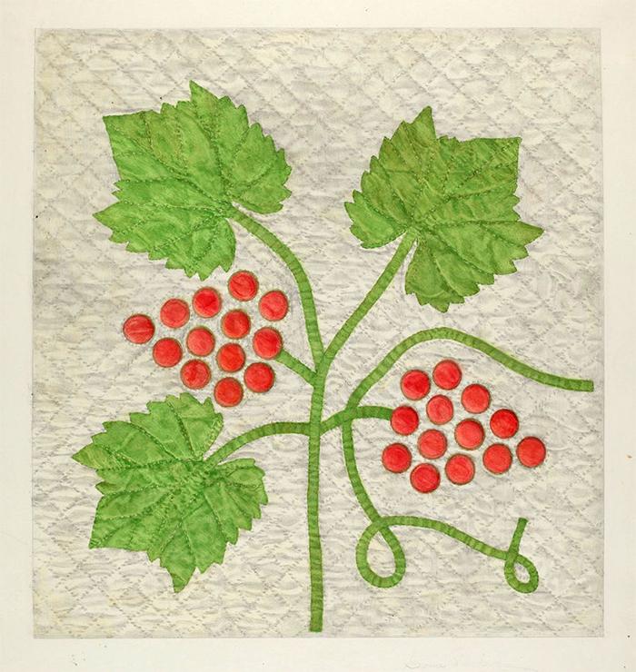 ArtWk-CoraParker-GrapePattern-WatercolorGraphite1935