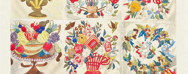 Saturday Night Art Walk: Watercolor Patterns 1935-1942