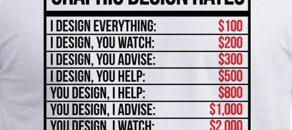 My New Graphic Design Rates